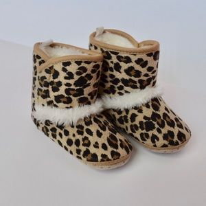 Old Navy Toddler Girl Leopard Print Boots